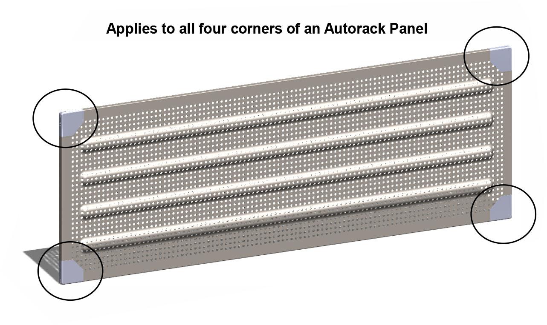 Autorack Panel Corner Protector