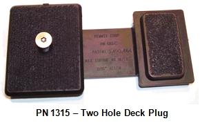 Two Hole Deck Plug